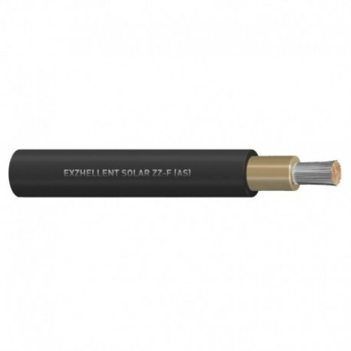 Cable solar 6 mm2 Negro